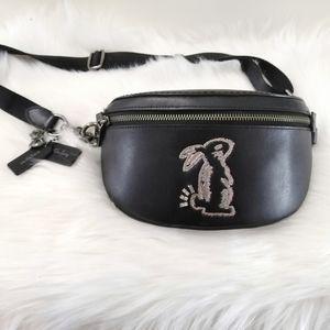 Coach x Selena Gomez Bunny Belt Bag Fanny Pack